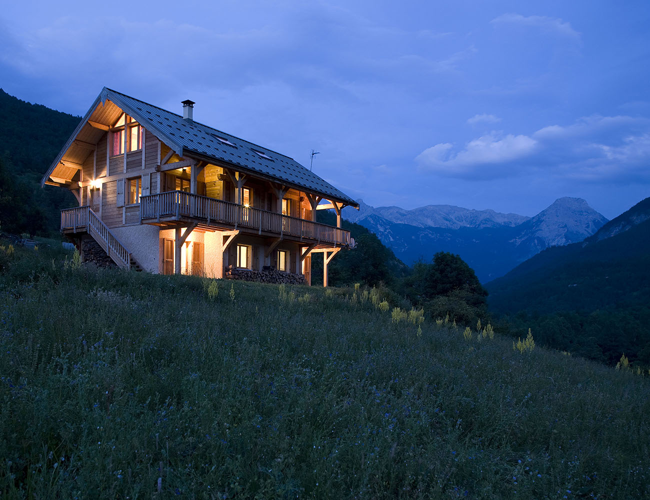 Chalet Gyronde, French Alps