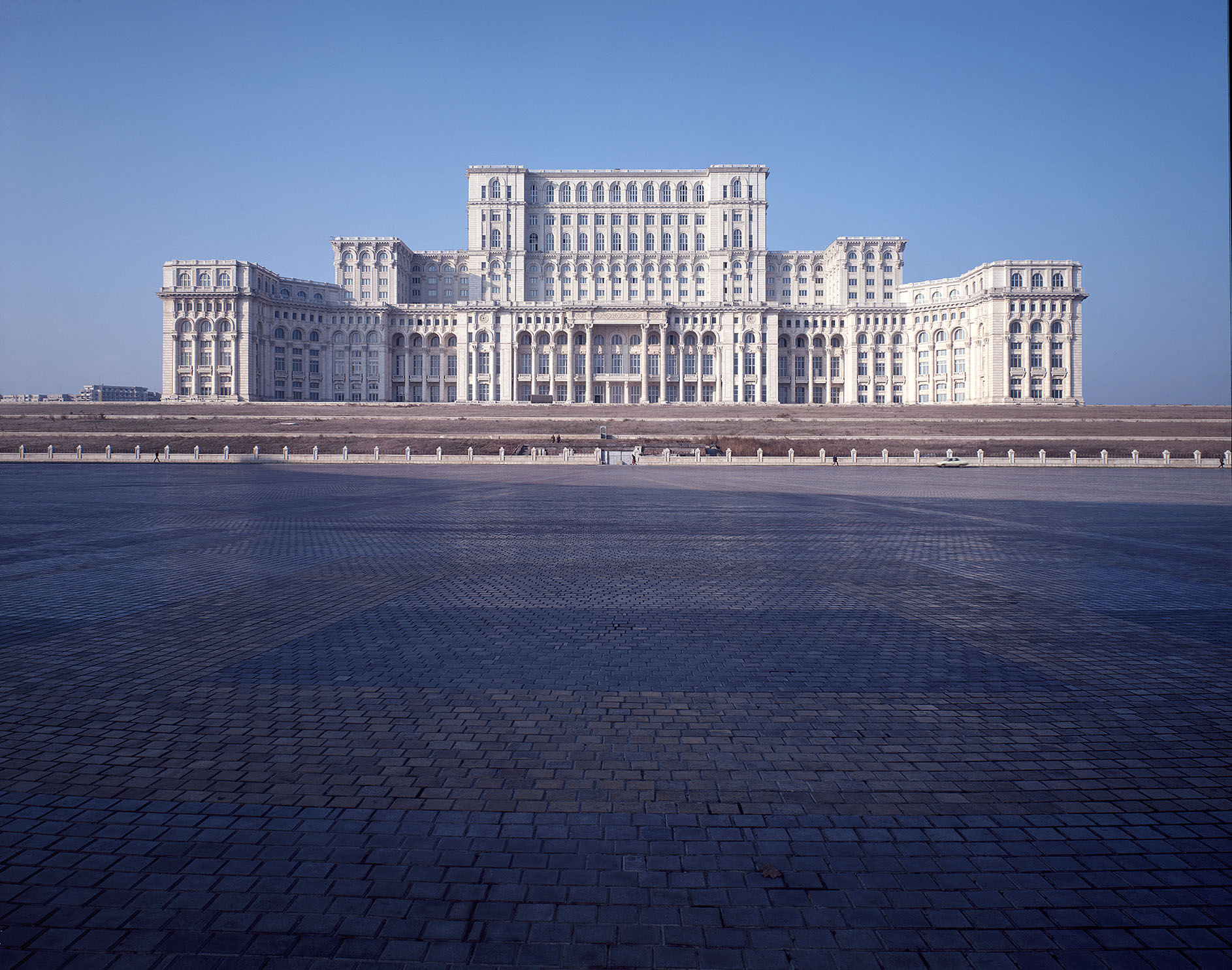 The House of The People in Bucharest, Romania
