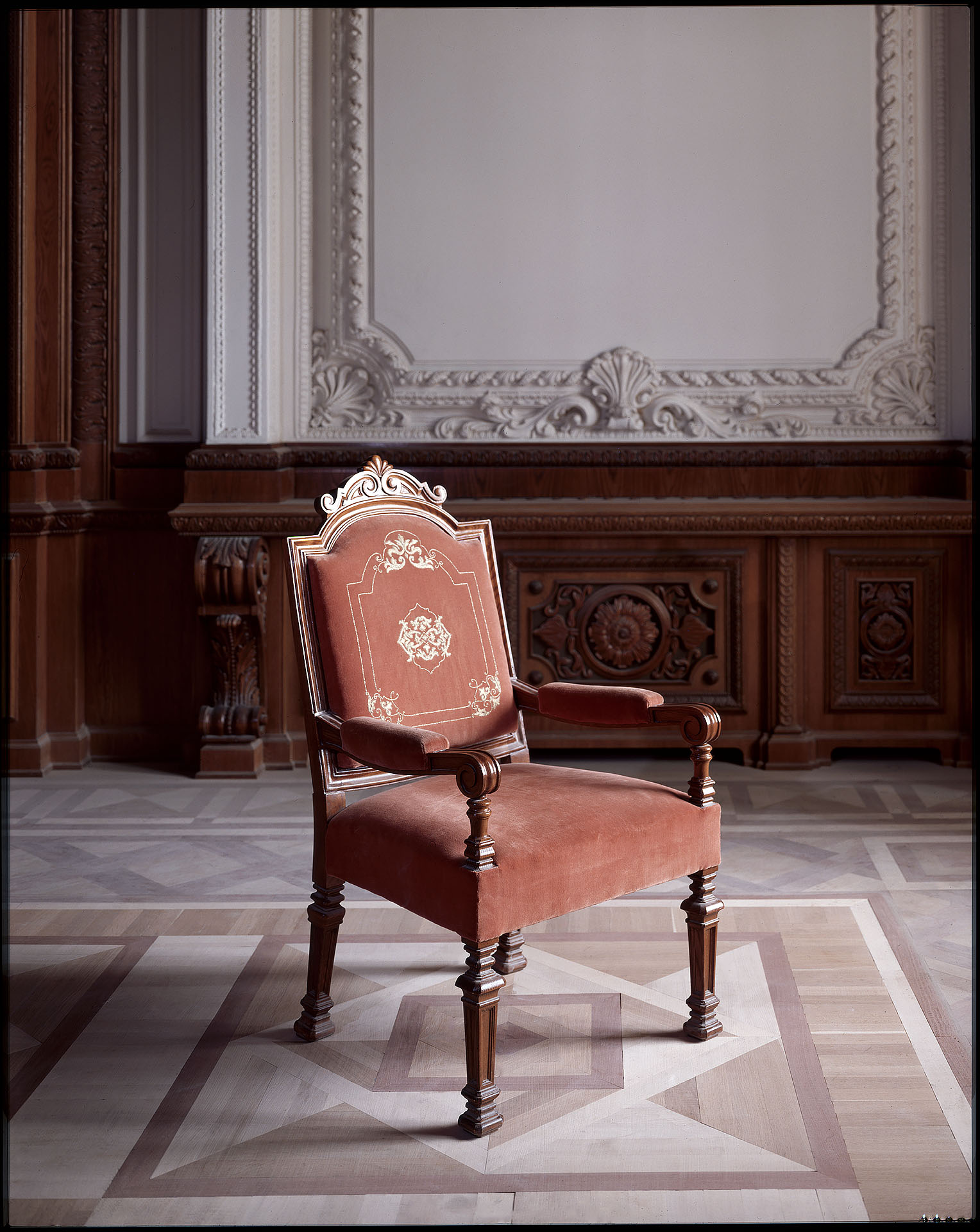 Ceausescu's chair