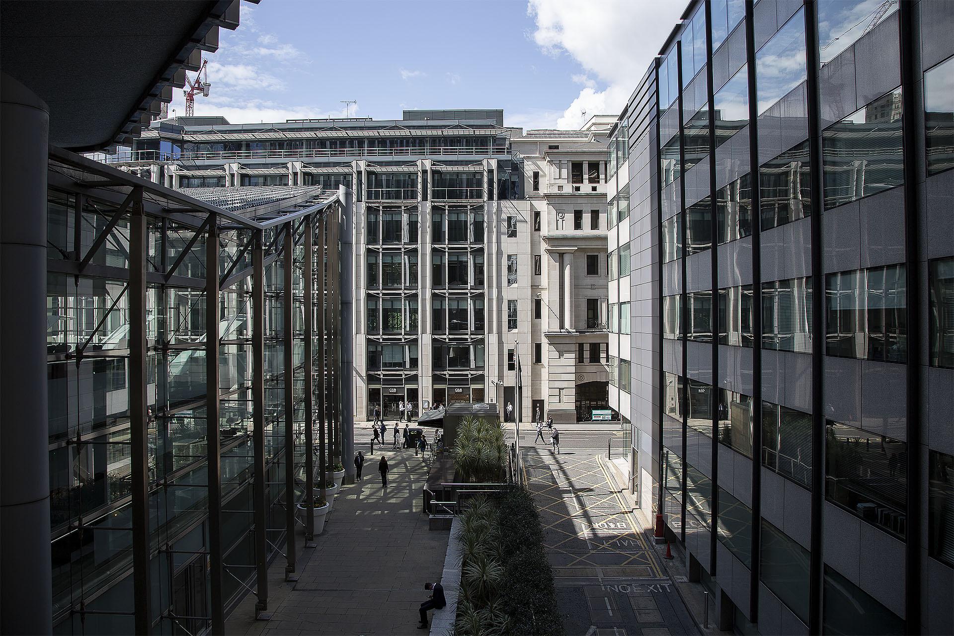 Behind the façade, London